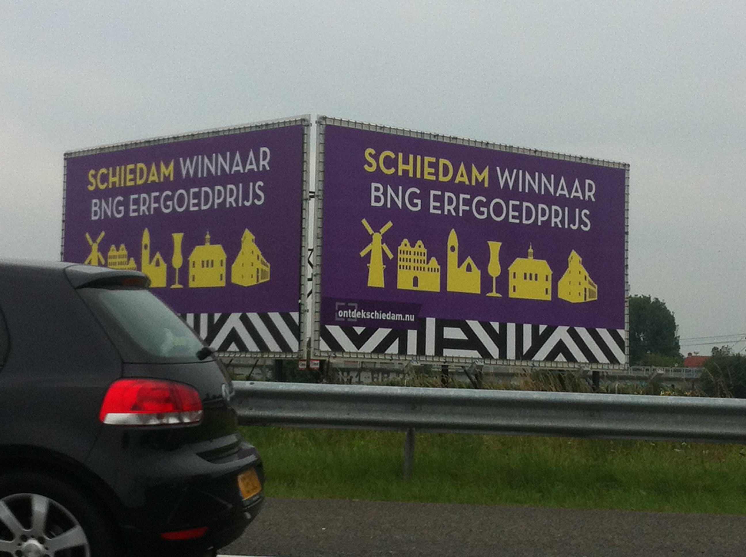 BNG Erfgoedprijs Schiedam snelweg A4 winnaar