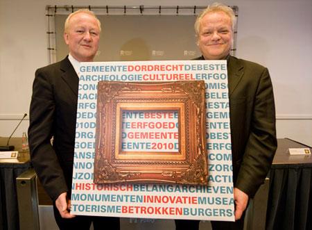 BNG Erfgoedprijs 2010 Dordrecht winnaar