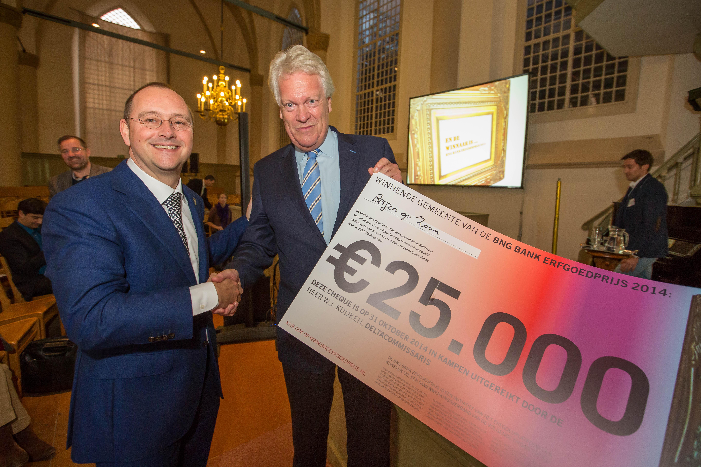 BERGEN OP ZOOM WINNAAR BNG BANK ERFGOEDPRIJS 2014